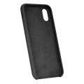 forcell silicone back cover case for samsung galaxy a41 black extra photo 1