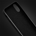 forcell silicone lite back cover case for samsung galaxy a41 black extra photo 1