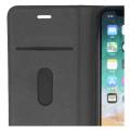 forever gamma 2in1 back cover and leather book flip case for iphone 11 pro max black extra photo 1