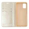 magnet book flip case for huawei p10 lite gold extra photo 1
