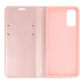 magnet book flip case for samsung galaxy s20 plus rose gold extra photo 1