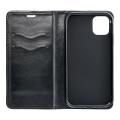 magnet book flip case for apple iphone 6 plus black extra photo 1