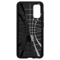 spigen slim armor back cover case stand for samsung s20 black extra photo 2