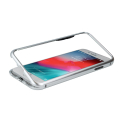 magnetic case for iphone xs max silver extra photo 2