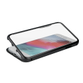 magnetic full glass case for samsung a40 black extra photo 2