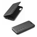 original audi leather folio case au tpufcip8p tt d1 bk for apple iphone 8 plus black extra photo 1