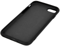 silicon back cover case for samsung a21s black extra photo 1
