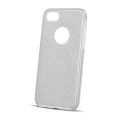glitter 3in1 back cover case for samsung a21s silver extra photo 2