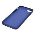 silicon back cover case for samsung a21s dark blue extra photo 1