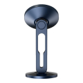 baseus hollow magnetic car mount holder with clamping function vertical navy blue extra photo 1