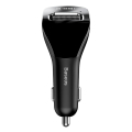 baseus streamer f40 aux wireless mp3 car charger black extra photo 1