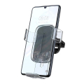 baseus explore wireless charger gravity car mount 15w transparent clear extra photo 2