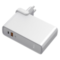 baseus 45watt gan power station 2 in 1 quick charge power bank 10000mah charger white extra photo 1