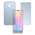4smarts 360 protection set for xiaomi redmi 8a clear extra photo 1