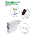 4smarts 3in1 charger hypervolt with wireless power bank 5200mah and wall charger function white extra photo 1