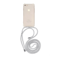 forcell cord neck strap back cover case for huawei y6p white extra photo 1