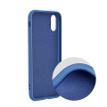 forcell silicone lite back cover case for huawei y6p blue extra photo 1