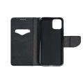fancy book flip case for xiaomi note 8 pro black extra photo 1
