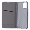 smart flip case book for xiaomi redmi 7 navy blue extra photo 1