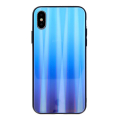 aurora glass back cover case for xiaomi redmi note 8t blue extra photo 1