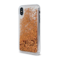liquid sparkle tpu back cover case for xiaomi redmi note 8t gold extra photo 1