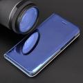 smart clear view flip case for xiaomi redmi k20 k20 pro mi 9t mi 9t pro blue extra photo 2
