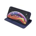 smart senso flip case for xiaomi redmi 7a navy blue extra photo 2