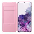 samsung led view cover galaxy s20 pink ef ng985pp extra photo 2