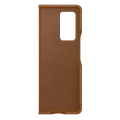 samsung leather cover galaxy fold 2 brown ef vf916la extra photo 2