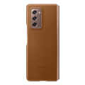 samsung leather cover galaxy fold 2 brown ef vf916la extra photo 4