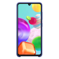 samsung silicone cover galaxy a41 blue ef pa415tl extra photo 1