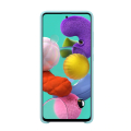 samsung silicone cover galaxy a51 blue ef pa515tl extra photo 2