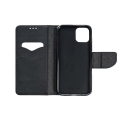 fancy book case for nokia 230 black extra photo 1