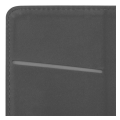 smart magnet flip case for lg velvet black extra photo 1