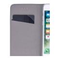 smart magnet flip case for samsung a42 5g navy blue extra photo 1