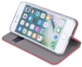 smart magnet flip case for samsung m21 red extra photo 1