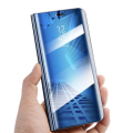 smart clear view flip case for samsung j5 2016 j510 blue extra photo 3