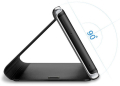 smart clear view flip case for samsung s20 black extra photo 1