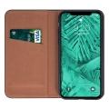 genuine leather flip case smart pro for huawei p40 lite czarny extra photo 1