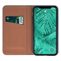 genuine leather flip case smart pro for huawei p40 black extra photo 1