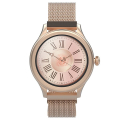 forever aw 100 smartwatch amoled icon rose gold extra photo 1