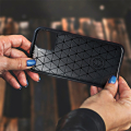 forcell carbon back cover case for huawei p40 lite 5g black extra photo 1