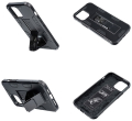 forcell defender back cover case stand for iphone 11 pro black extra photo 1