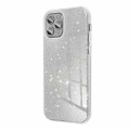 forcell shining back cover case for iphone 12 12 pro silver extra photo 1