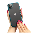 forcell new electro matt back cover case for iphone 12 pro max green extra photo 1
