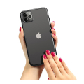 forcell new electro matt back cover case for iphone 12 mini black extra photo 1