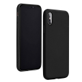 forcell silicone lite back cover case for iphone 12 mini black extra photo 1