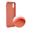 forcell silicone lite back cover case for iphone 12 12 pro pink extra photo 1