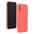 forcell silicone lite back cover case for iphone 12 12 pro pink extra photo 2