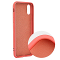 forcell silicone lite back cover case for samsung galaxy a31 pink extra photo 1